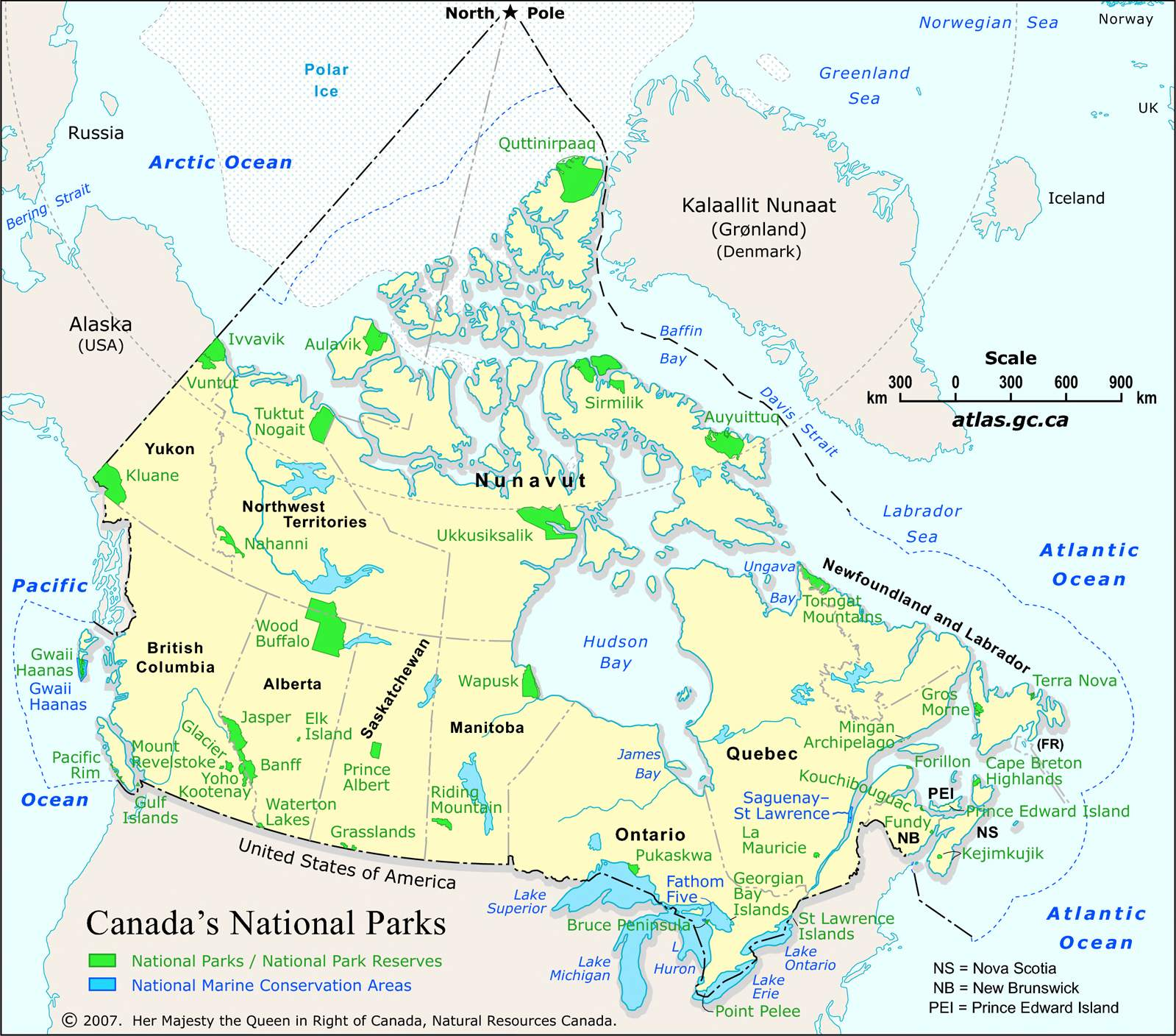 National Parks | The Canada Guide
