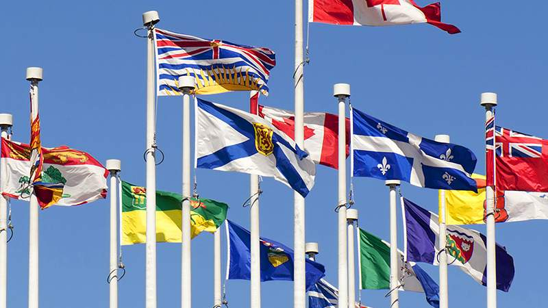 Flags The Canada Guide
